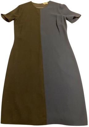 Fendi Blue Polyester Dresses