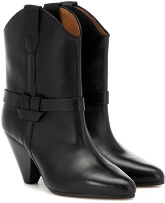 Isabel Marant Deane leather ankle boots