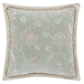 "J Queen New York Garden View 18"" Square Decorative Throw Pillow Bedding"
