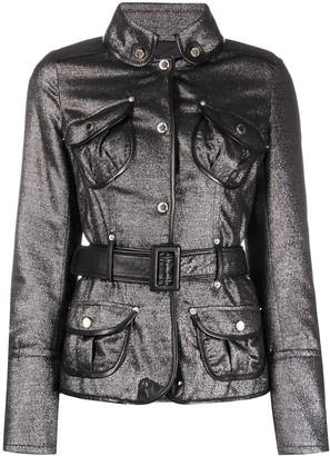 Gianfranco Ferré Pre Owned 1990s Lurex Button Up Jacket