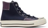 Converse Navy Nautical Prep Chuck 70 High Sneakers