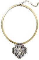 New York & Co. Glittering Collar Pendant Necklace