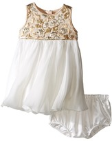 Dolce & Gabbana Floral Jacquard Dress (Infant)