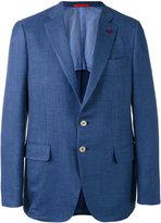 Isaia two button blazer - men - Silk/Linen/Flax/Cupro/Wool - 50