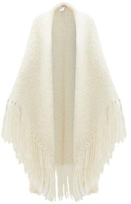 Gabriela Hearst Lauren Cashmere Wrap - Ivory
