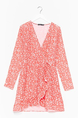 Nasty Gal Womens Bud Your Ground Floral Playsuit - Red - 6, Red