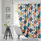 Asstd National Brand Padma Cotton Shower Curtain
