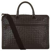 Bottega Veneta Cartella Intrecciato Briefcase Bag