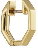 Finn Women's Yellow Gold Octagonal Huggie Hoop