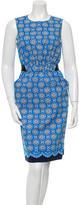 Oscar de la Renta Summer 2016 Floral Dress