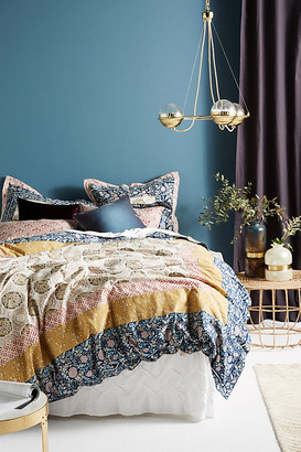 Anthropologie Meguro Duvet Cover By in Assorted Size QN TOP/BED