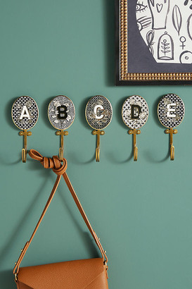 Anthropologie Imogen Monogram Hook By in Size P