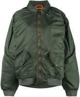 Y/Project Y / Project oversized adjustable shoulders bomber jacket