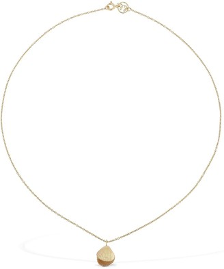 9kt Lil We Shall Chain Necklace W/pearls