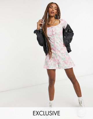 Reclaimed Vintage inspired skater dress in floral print