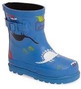 Joules Toddler Boy's Print Waterproof Rain Boot