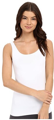 Only Hearts Delicious Long Line Low Back Tank Top (Black) Women's Sleeveless