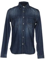 Care Label Denim shirt