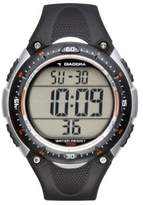 Diadora Men's Watch Digital Quartz Plastic di 02 Pink