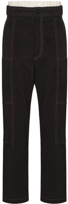 Jacquemus Felix layered trousers