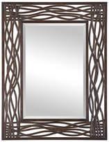 Asstd National Brand Dorigrass Brown Metal Mirror