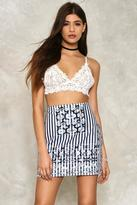 Nasty Gal Olivia Denim Skirt