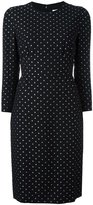 Givenchy star print shift dress - women - Silk/Polyester/Acetate - 36
