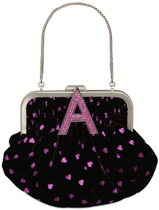 ATTICO Mini Velvet Doctor Bag W/hearts