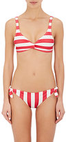 Solid & Striped WOMEN'S JANE STRIPED TWIST-FRONT BIKINI TOP