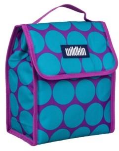 Wildkin Big Dot Aqua Lunch Bag