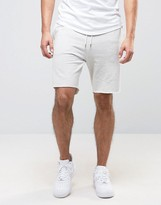 New Look New Look Jersey Shorts In Light Grey