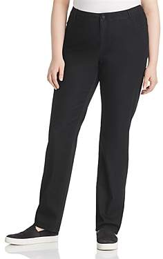 Lafayette 148 New York Plus Thompson Skinny Jeans in Black