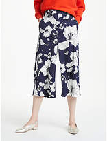 Great Plains Tropical Fauna Culottes, Navy/Multi