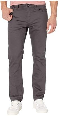 Volcom Solver Five-Pocket Slub Jean (Asphalt Black) Men's Casual Pants