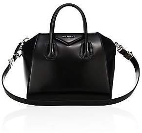 Givenchy Women's Small Antigona Glazed Leather Satchel