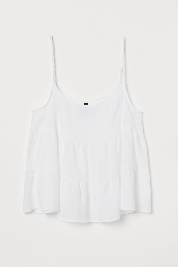 Thumbnail for your product : H&M Voluminous strappy top