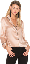 Hoss Intropia V Neck Button Up Blouse