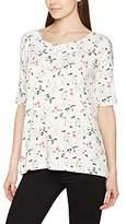 Blend of America Women's Florish T Tee Long-Sleeved T-Shirt