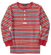 Ralph Lauren Boys 2-7 Cotton Long Sleeve Polo Tee