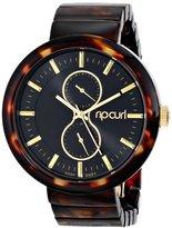 Rip Curl Women's A2704G - TOR FUTURIST ACETATE - TORTOISE Analog Display Quartz Brown Watch