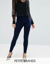 Missguided Petite Vice High Waisted Tube Jean
