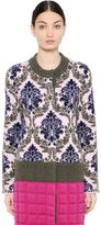 Mary Katrantzou Wool Jacquard Coat
