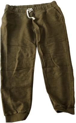 soeur Khaki Cotton Trousers