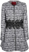Moncler Gamme Rouge Embroidered Coat