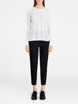 DKNY Sheer Rib Pullover
