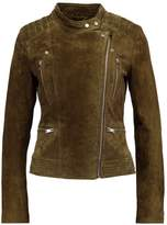 Only ONLAIDA Leather jacket grape leaf