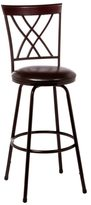 Hillsdale Northland Swivel Counter/ Bar Stool with Nested Legs