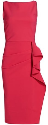 Chiara Boni Gonnen Draped Jersey Dress