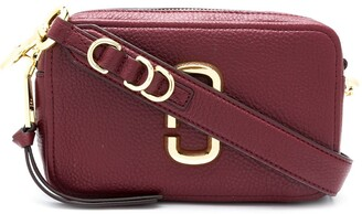 Marc Jacobs Zip-Up Leather Crossbody Bag