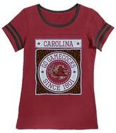 NCAA South Carolina Gamecocks Girls Foil T-Shirt